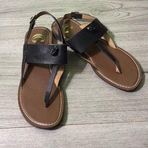 Charming Charlie Black Sandals